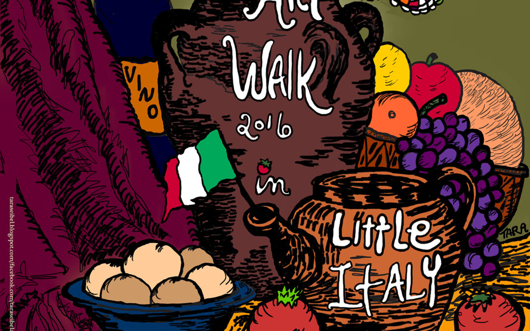 Little Italy Redevelopment Corporation partners with Cuyahoga Art & Culture to sponsor Summer Art Walk